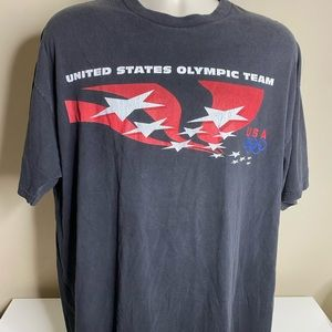 Vintage United States Olympic hockey t shirt XL